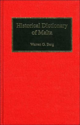 Historical Dictionary of Malta
