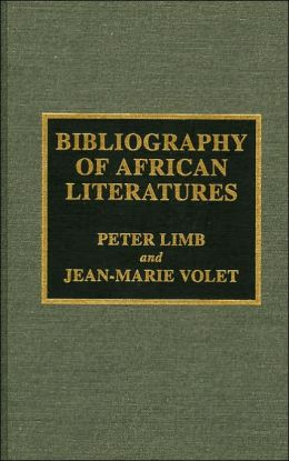 Bibliography of African Literatures