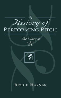 History Of Performing Pitch