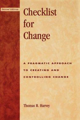 Checklist For Change