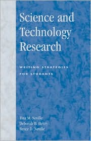 Science and Technology Research: Writing Strategies for Students