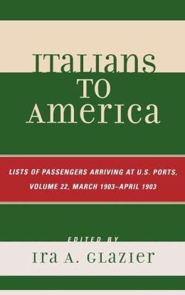 Italians To America, Volume 22