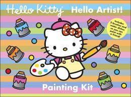 Hello Kitty, Hello Artist! Painting Kit
