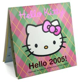 2005 Hello Kitty Wall Calendar
