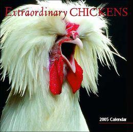 2005 Extraordinary Chickens Wall Calendar