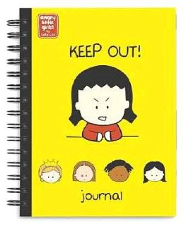 Angry Little Girls Wire-O Bound Blank Journal