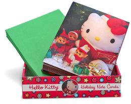 Hello Kitty Happy Holidays Note Cards