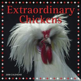 2008 Extraordinary Chickens Wall Calendar