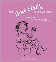 2002 Bad Girls Weekly Engagement Calendar