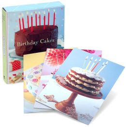 Birthday Cakes Notecards
