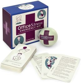 Office Stress Emergency Kit: 30 Yoga and Relaxation Cards, Plus a Stress-Eliminating Squeeze Ball