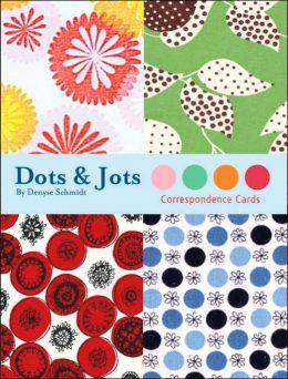 Dots & Jots Correspondence Cards
