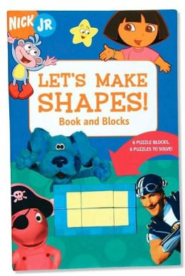 Let's Make Shapes! Book and Blocks: 6 Puzzle Blocks, 6 Puzzles to Solve!