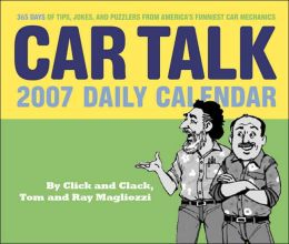 2007 Car Talk Daily Box Calendar