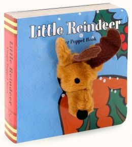 Little Reindeer: Finger Puppet Book