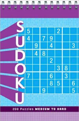 Sudoku: Medium to Hard
