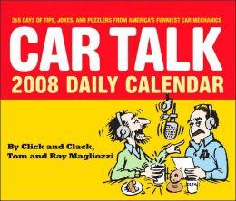 Car Talk 2008 Daily Calendar