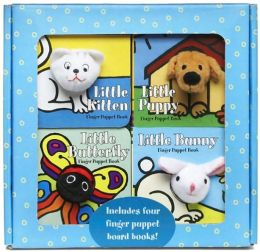 Finger Puppet Playtime Boxed Set: Little Kitten, Little Puppy, Little Butterfly and Little Bunny