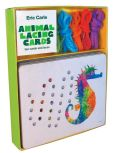 Product Image. Title: Eric Carle Animal Lacing Cards: 10 Cards & Laces