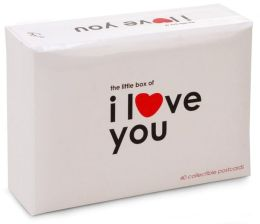 The Little Box of I Love You 40 postcards