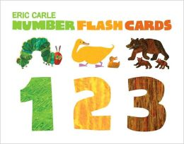 Eric Carle Number Flash Cards: 123