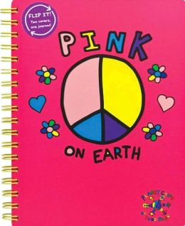Planet Color by Todd Parr Jumbo Journal Pink on Earth
