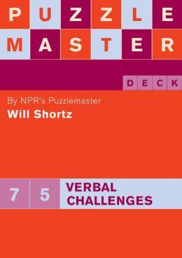 Puzzlemaster Deck: 75 Verbal Challenges