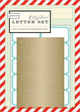 Paper + Cup Old School Letter Set