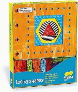 MoMA Modern Shapes Lacing Cards: 10 Cards & Laces