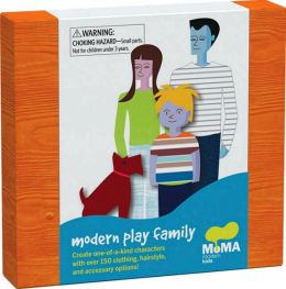 MoMA Modern Play Family: Create One-of-a-Kind Characters with Over 150 Clothing, Hairstyle, and Accessory Options!