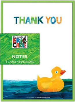 Eric Carle Shower Thank-Yous