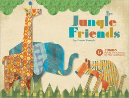 Jungle Friends: 5 Jumbo Punch-Out Animals for Play and Display