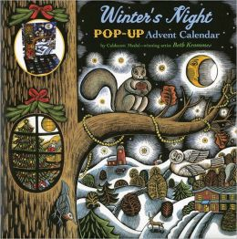 Winter's Night Pop-Up Advent Calendar