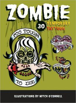 Zombie Temporary Tattoos: 30 Temporary Tattoos