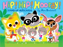 Hip! Hip! Hooray! Stand-Up Notecards