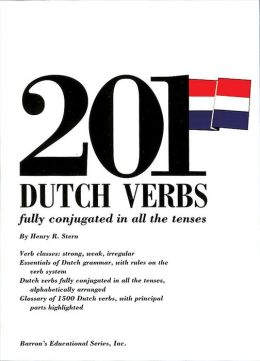 201 Dutch Verbs: Barron's Educational Series