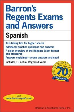 Barron's Regents Exams and Answers Spanish Level 3