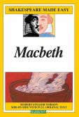 Book Cover Image. Title: Macbeth (Shakespeare Made Easy Series), Author: William Shakespeare