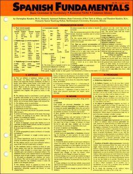 Spanish Fundamentals (Language Fundamentals Card Guides Series)