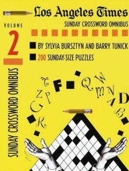 Los Angeles Times Sunday Crossword Omnibus, Volume 2