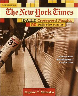 The New York Times Daily Crossword Puzzles, Volume 37