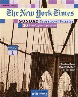 New York Times Sunday Crossword Puzzles 01