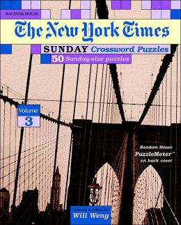 New York Times Sunday Crossword Puzzles #3