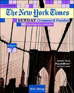 New York Times Sunday Crosswords