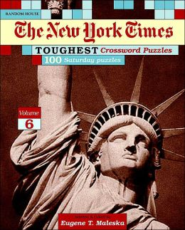 New York Times Toughest Crossword Puzzles, Volume 6