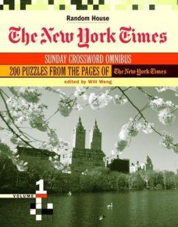New York Times Sunday Crossword Omnibus, Volume 1