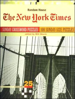 New York Times Sunday Crosswords, Volume 25
