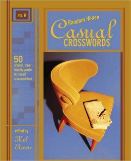 Random House Casual Crosswords, Volume 6
