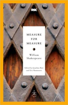 Measure for Measure (Modern Library Royal Shakespeare Company Series)
