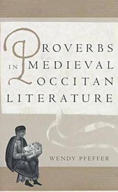 Proverbs in Medieval Occitan Literature